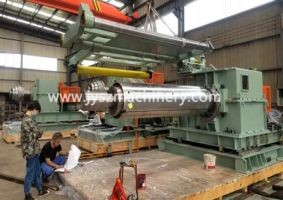 Tension reel for aluminum and aluminum alloy slitting line
