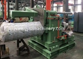 Recoiler for steel color coating line
