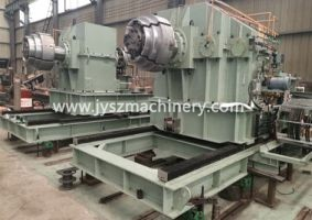 Payoff reel for Aluminum strip tension leveling line
