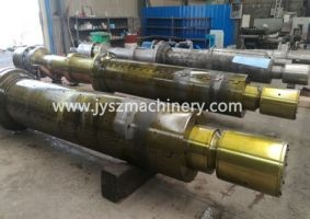 Expand and collapse mandrel shaft