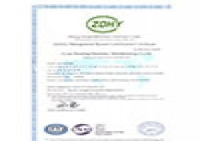 Factory got ISO 9001-2015 Certificate