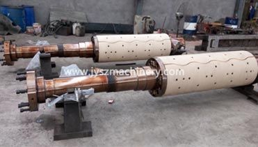 Recoiler mandrel and uncoiler mandrels exported to India,for steel continuous galvanizing line(CGL)
