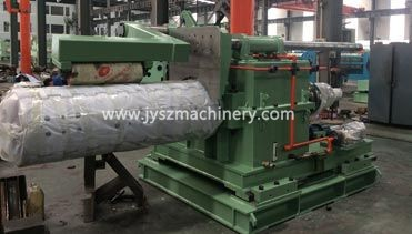 Recoiler and uncoiler machine exported to Pakistan,for steel color coating line